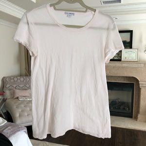 James perse // cream t shirt super soft